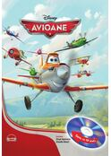 Disney Audiobook. Avioane / Planes (carte + CD)