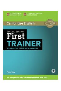 First Trainer, Six Practice Tests with Answers with Audio