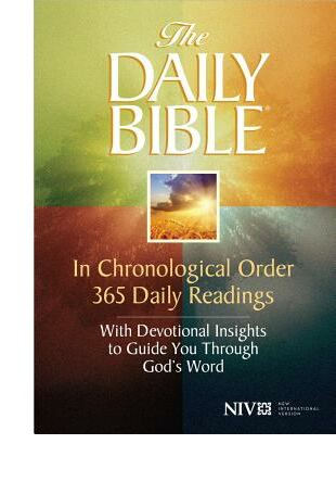 Daily Bible-NIV: In Chronological Order 365 Daily Readings with Devotional Insights to Guide You Through God's Word