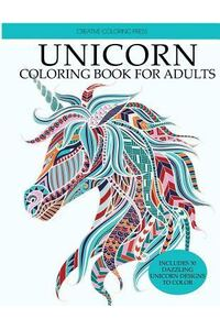 Unicorn Coloring Book: Adult Coloring Book with Beautiful Unicorn Designs