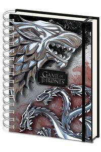Notebook A5 Game of Thrones (Stark & Targaryen)