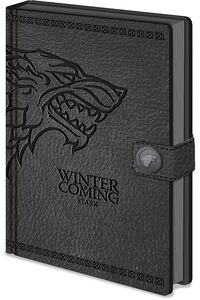 Notebook A5 Premium Game of Thrones (Stark)