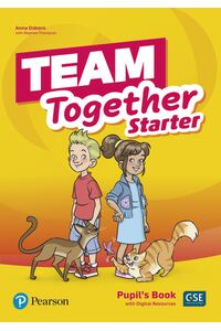 Team Together Starter, Pupil's Book with Digital Resources (Pre A1)