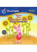 Disney English. Winnie de Pluş (Nivelul 1) Piglet feels small / Grohi e prea mic (poveste bilingvă)